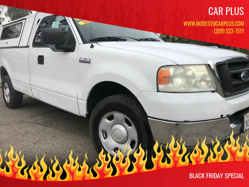 2004 Ford F-150 for sale at CAR PLUS in Modesto CA