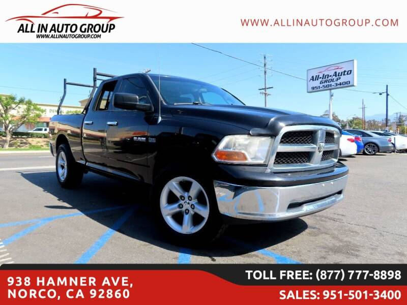 2009 Dodge Ram Pickup 1500 for sale in Norco, CA