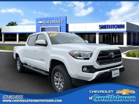 2017 Toyota Tacoma for sale at CHEVROLET OF SMITHTOWN in Saint James NY