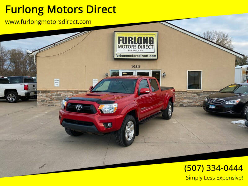 2015 Toyota Tacoma for sale at Furlong Motors Direct in Faribault MN