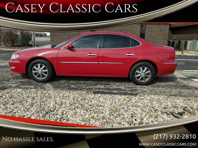 2008 Buick LaCrosse for sale at Casey Classic Cars in Casey IL