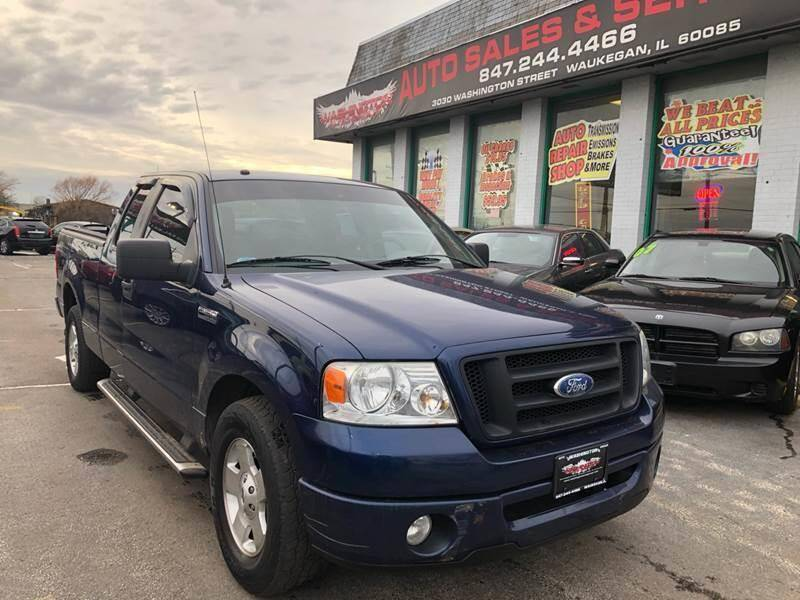 2008 Ford F-150 for sale at Washington Auto Group in Waukegan IL
