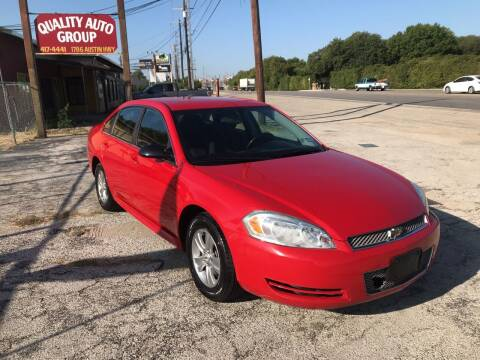 2013 Chevrolet Impala for sale at Quality Auto Group in San Antonio TX