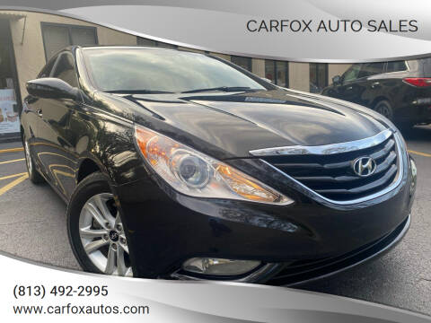 2013 Hyundai Sonata for sale at Carfox Auto Sales in Tampa FL