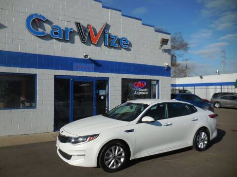 2016 Kia Optima for sale at Carwize in Detroit MI