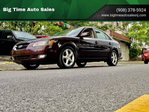 2006 Hyundai Sonata for sale at Big Time Auto Sales in Vauxhall NJ