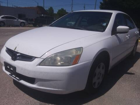 2005 Honda Accord for sale at Best Buy Autos in Mobile AL