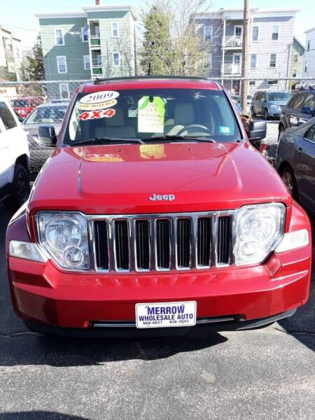 2009 Jeep Liberty for sale at MERROW WHOLESALE AUTO in Manchester NH