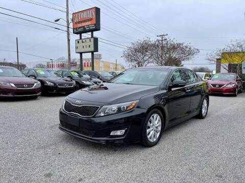 2015 Kia Optima for sale at Autohaus of Greensboro in Greensboro NC