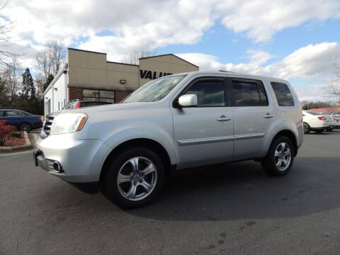 2013 Honda Pilot for sale at ValueMax Used Cars in Greenville NC
