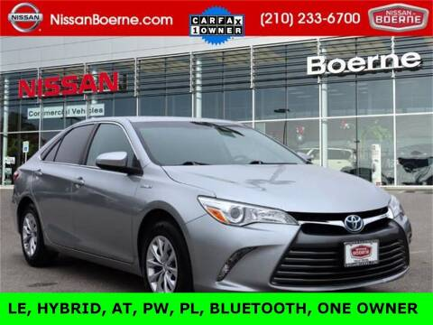 2017 Toyota Camry Hybrid for sale at Nissan of Boerne in Boerne TX
