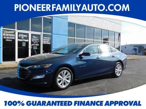 2021 Chevrolet Malibu for sale at Pioneer Family auto in Marietta OH