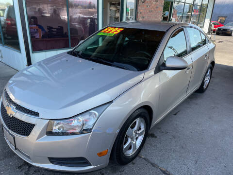 2012 Chevrolet Cruze for sale at Low Auto Sales in Sedro Woolley WA