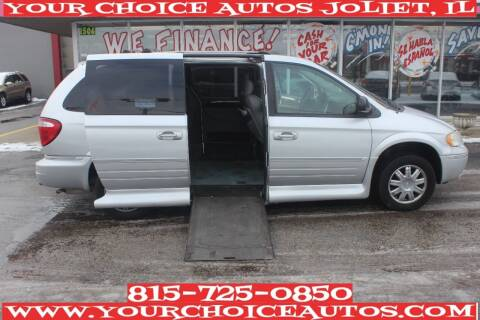 2005 Chrysler Town and Country for sale at Your Choice Autos - Joliet in Joliet IL