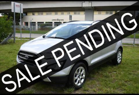 2019 Ford EcoSport for sale at ELITE MOTOR CARS OF MIAMI in Miami FL