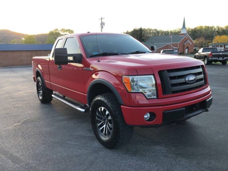 2010 Ford F-150 for sale at KNK AUTOMOTIVE in Erwin TN