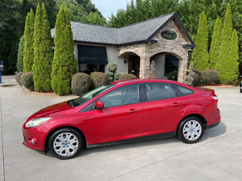 2012 Ford Focus for sale at Hoyle Auto Sales in Taylorsville NC