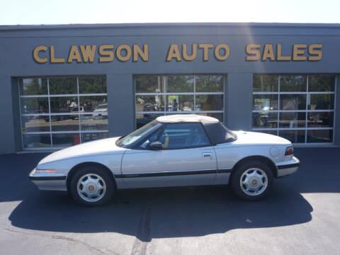1991 Buick Reatta for sale at Clawson Auto Sales in Clawson MI