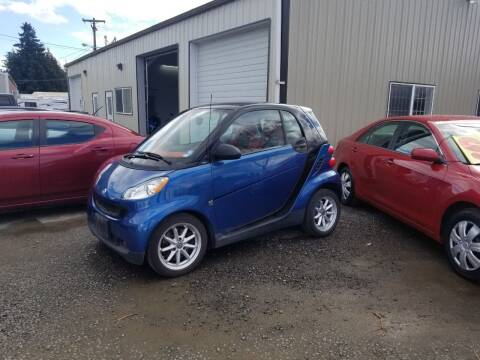 2008 Smart fortwo for sale at McMinnville Auto Sales LLC in Mcminnville OR