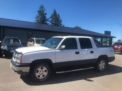 2004 Chevrolet Avalanche for sale at ROSSTEN AUTO SALES in Grand Forks ND