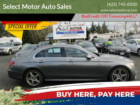 2017 Mercedes-Benz E-Class for sale at Select Motor Auto Sales in Lynnwood WA
