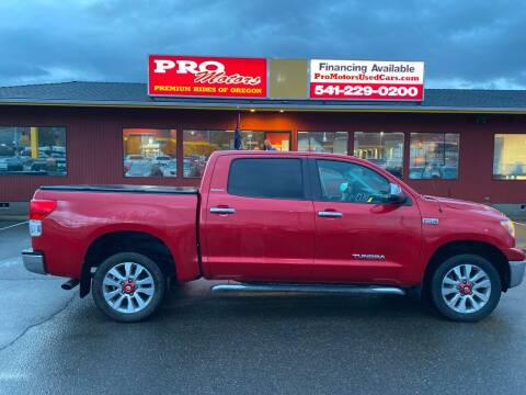 2013 Toyota Tundra for sale at Pro Motors in Roseburg OR