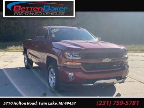 2018 Chevrolet Silverado 1500 for sale at Betten Baker Preowned Center in Twin Lake MI