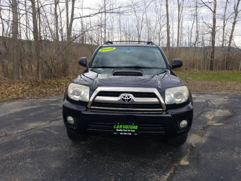 2008 Toyota 4Runner for sale at L & R Motors in Greene ME