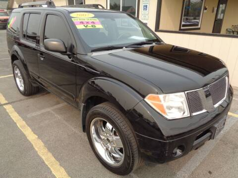 2007 Nissan Pathfinder for sale at BBL Auto Sales in Yakima WA