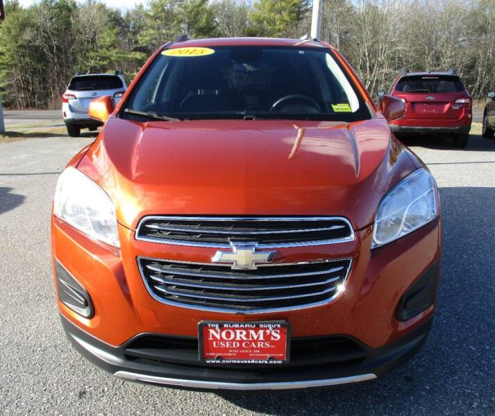 2015 Chevrolet Trax for sale at NORM'S USED CARS INC - Trucks By Norm's in Wiscasset ME