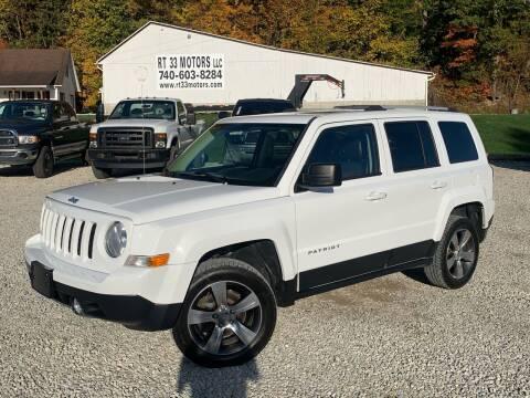 2016 Jeep Patriot for sale at Rt 33 Motors LLC in Rockbridge OH