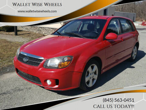 2009 Kia Spectra for sale at Wallet Wise Wheels in Montgomery NY