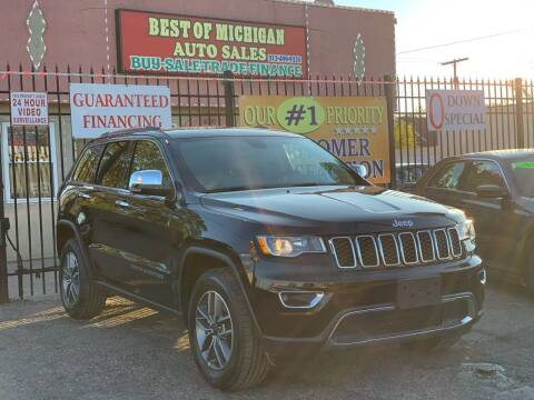 2020 Jeep Grand Cherokee for sale at Best of Michigan Auto Sales in Detroit MI