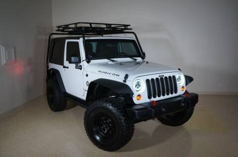 2012 Jeep Wrangler for sale at TopGear Motorcars in Grand Prarie TX