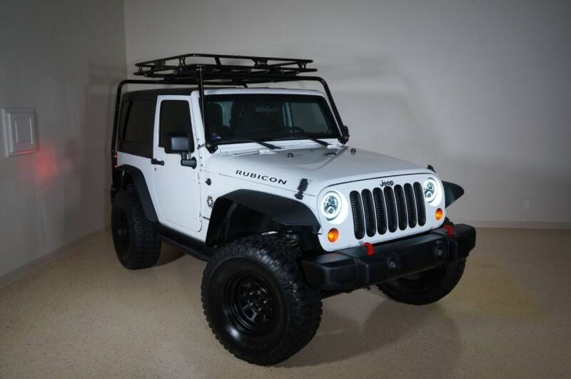 2012 Jeep Wrangler for sale at TopGear Motorcars in Grand Prairie TX