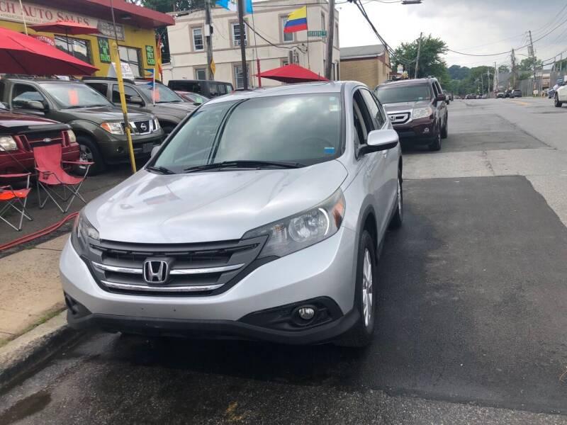 2014 Honda CR-V for sale at Drive Deleon in Yonkers NY