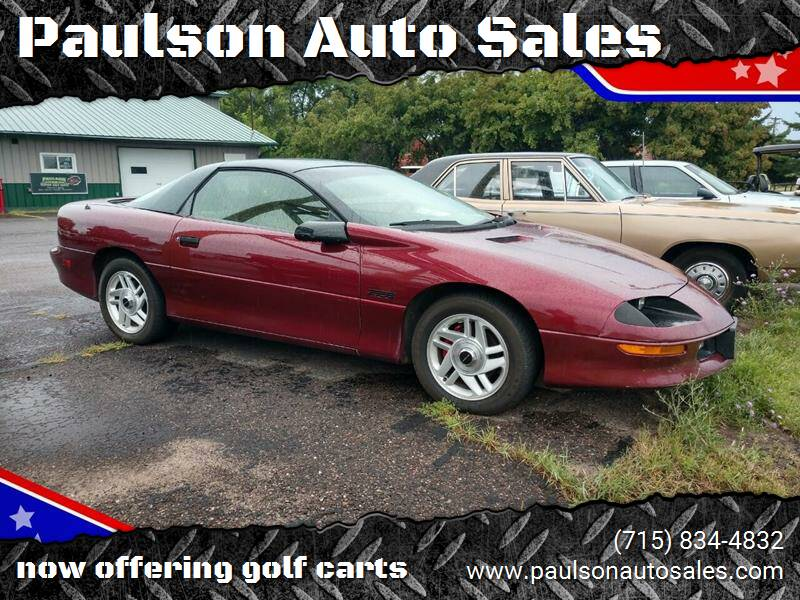 1993 Chevrolet Camaro for sale at Paulson Auto Sales in Chippewa Falls WI