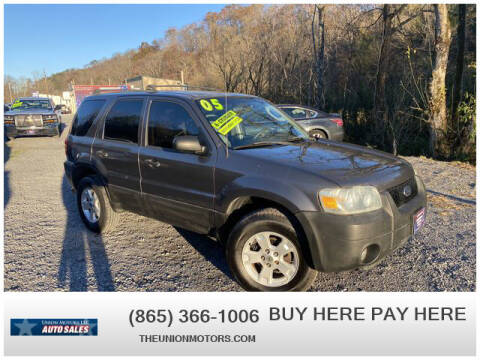 2005 Ford Escape for sale at Union Motors in Seymour TN