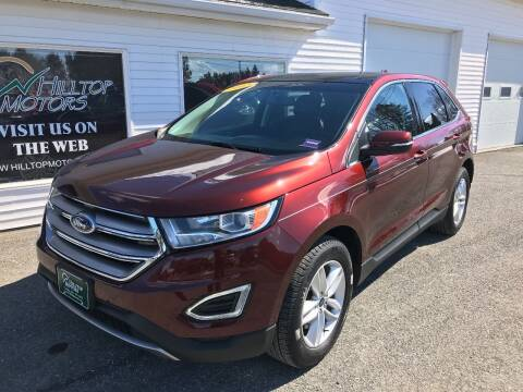 2015 Ford Edge for sale at HILLTOP MOTORS INC in Caribou ME