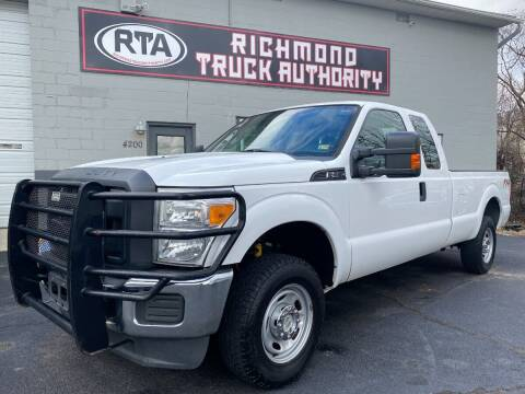 2015 Ford F-250 Super Duty for sale at Richmond Truck Authority in Richmond VA
