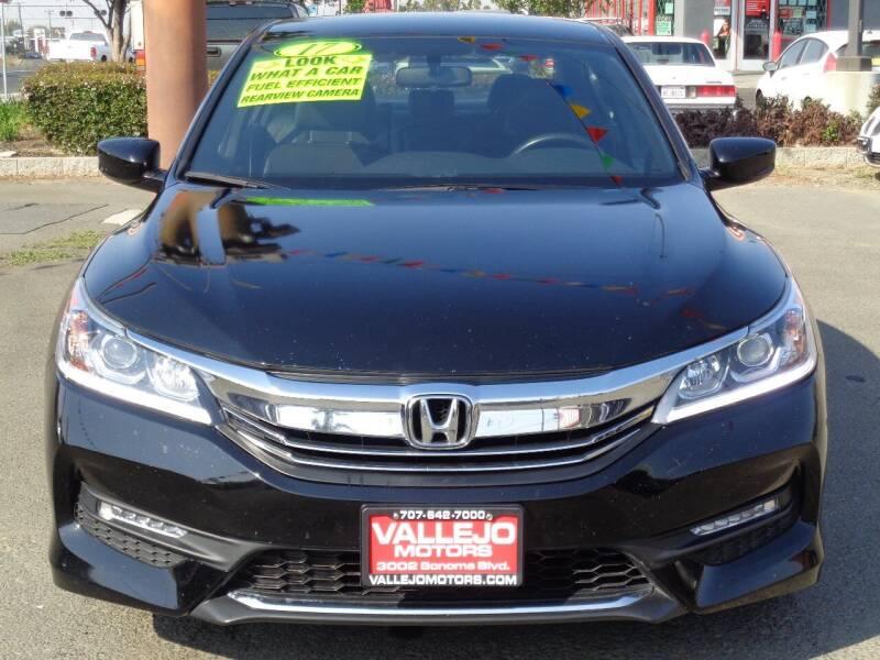 2017 Honda Accord for sale at Vallejo Motors in Vallejo CA