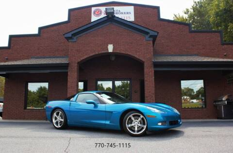 2008 Chevrolet Corvette for sale at Atlanta Auto Brokers in Cartersville GA