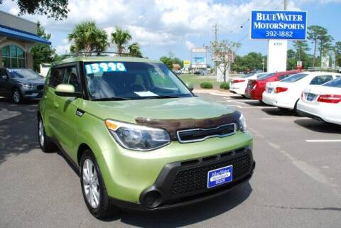 2015 Kia Soul for sale at BlueWater MotorSports in Wilmington NC