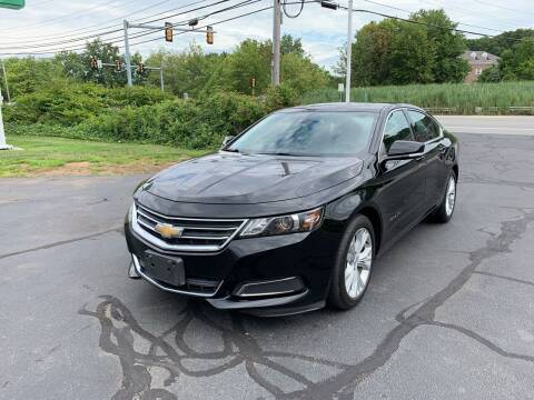 2015 Chevrolet Impala for sale at Turnpike Automotive in North Andover MA