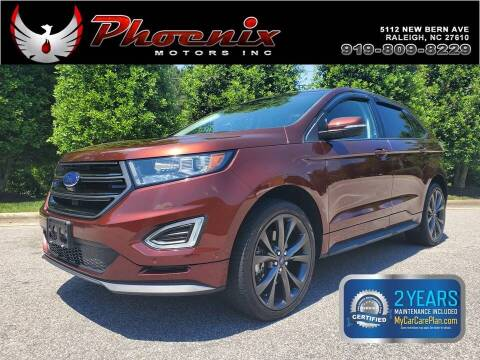 2015 Ford Edge for sale at Phoenix Motors Inc in Raleigh NC