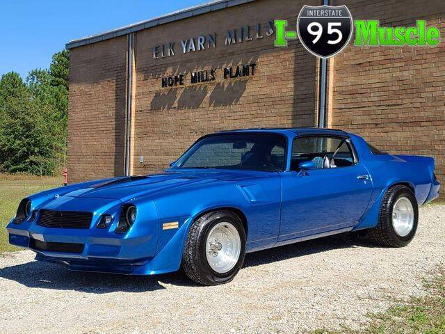 1981 Chevrolet Camaro for sale at I-95 Muscle in Hope Mills NC
