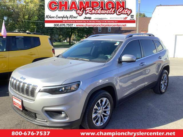 2021 Jeep Cherokee for sale at CHAMPION CHRYSLER CENTER in Rockwell City IA