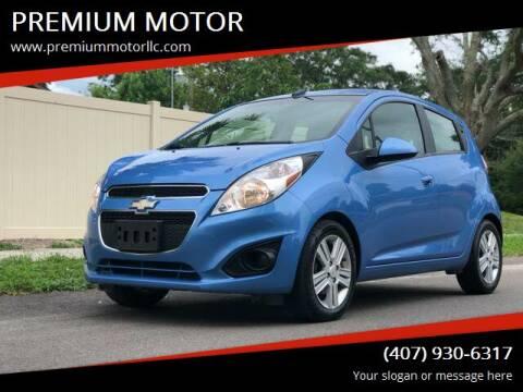 2013 Chevrolet Spark for sale at PREMIUM MOTOR in Orlando FL