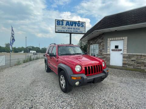 2003 Jeep Liberty for sale at 83 Autos in York PA