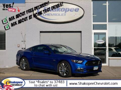 2017 Ford Mustang for sale at SHAKOPEE CHEVROLET in Shakopee MN